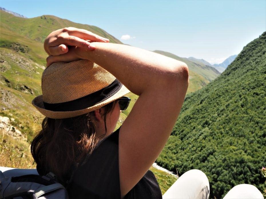 repos sur les chemins du Caucase