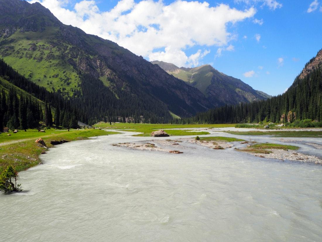Randonnées au sud de Karakol