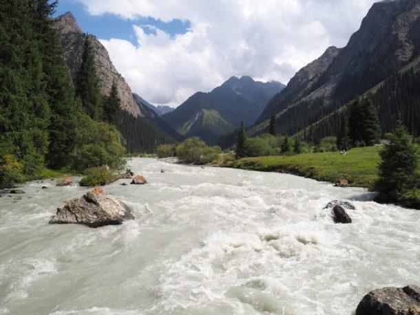 Les montagnes du Tian Shan