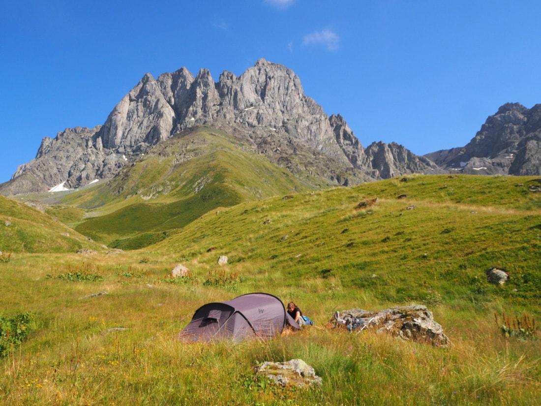Camping en Géorgie
