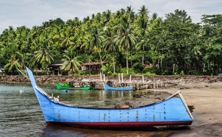 Pulau Weh, port