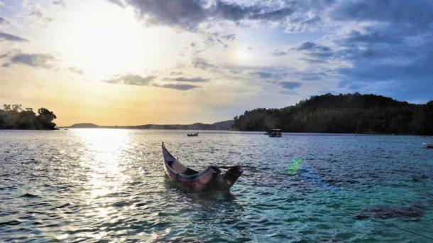 bateau pêcheurs pulau Weh