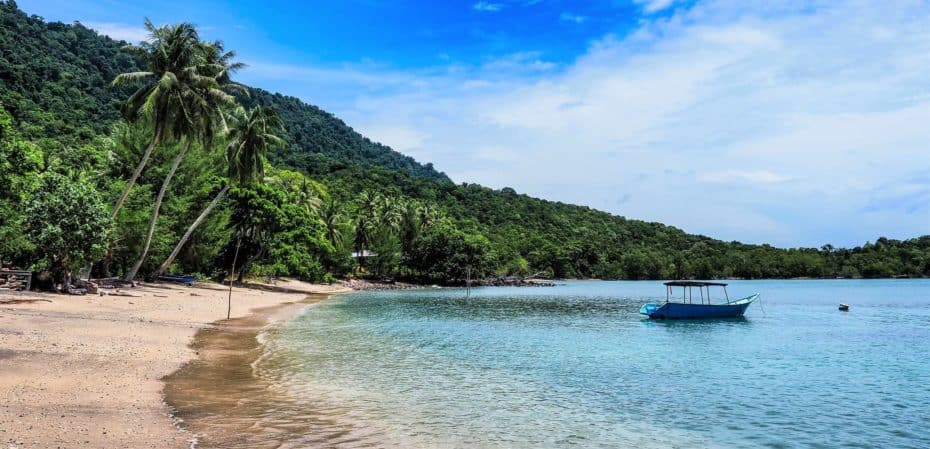 île prés de Sumatra