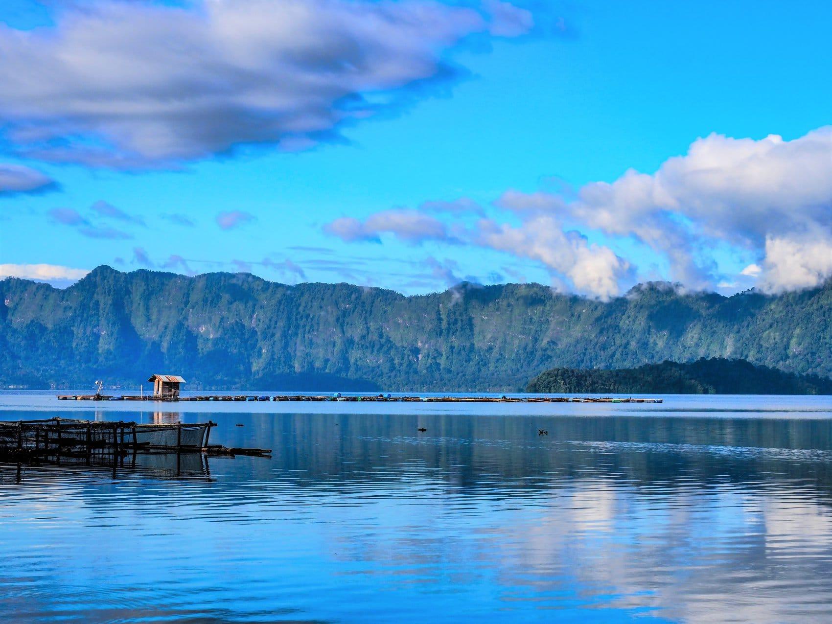 lac Maninjau Pêche