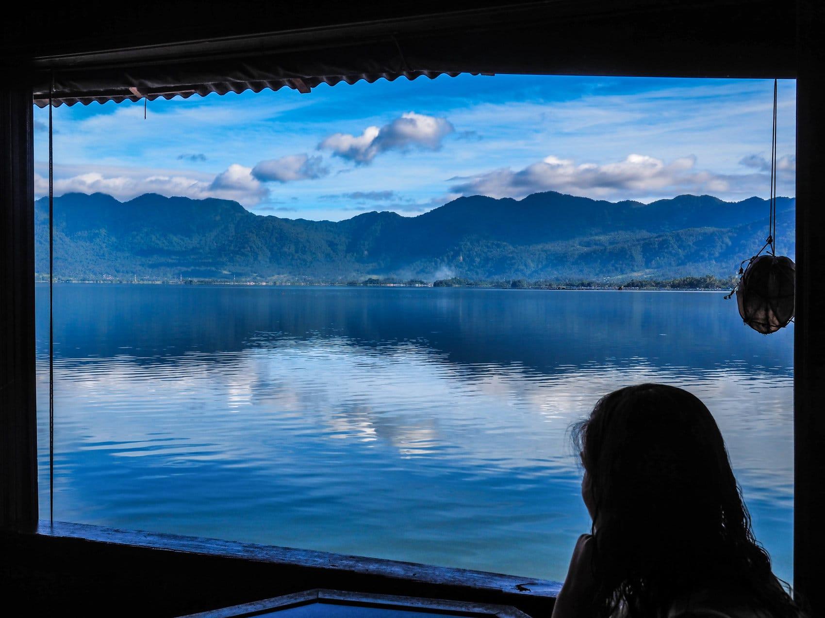 Sumatra lac Maninjau