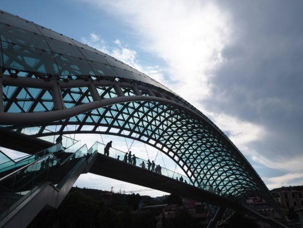 Architecture moderne à Tbilissi
