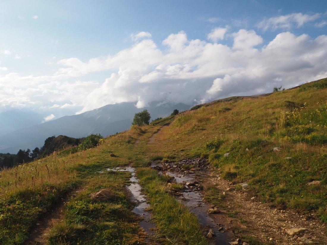 Chemins de randonnées Géorgie