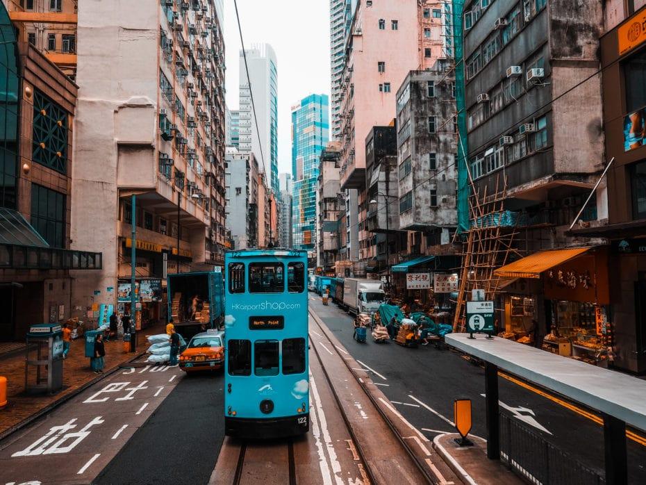 Sheung wan quartier Hong Kong