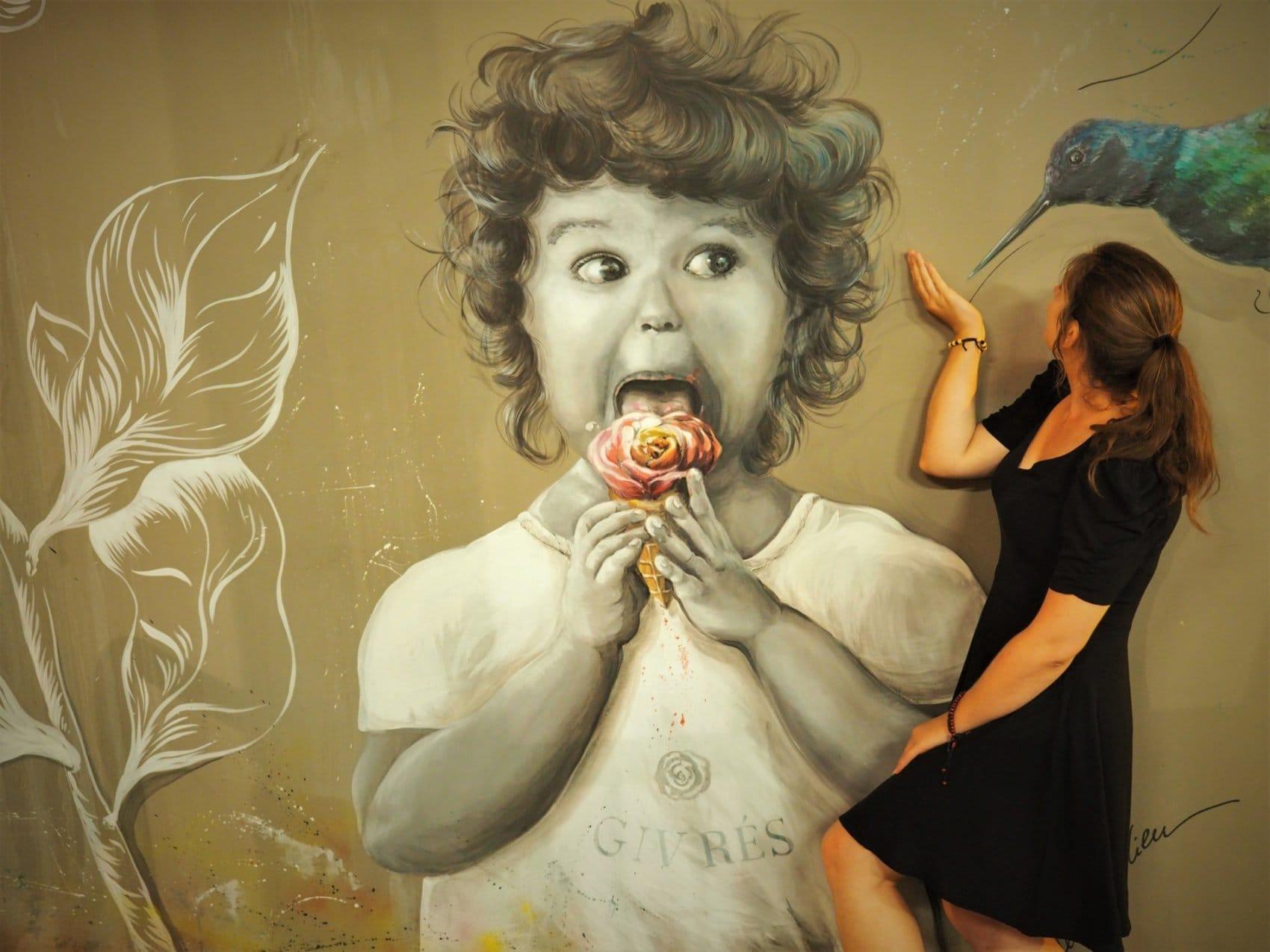 Colibri Hong Kong Street Art
