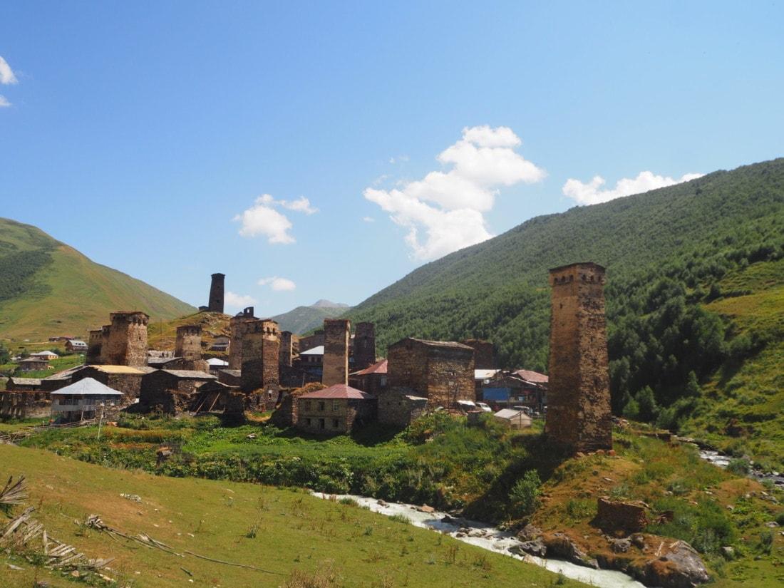 Village de Svanétie