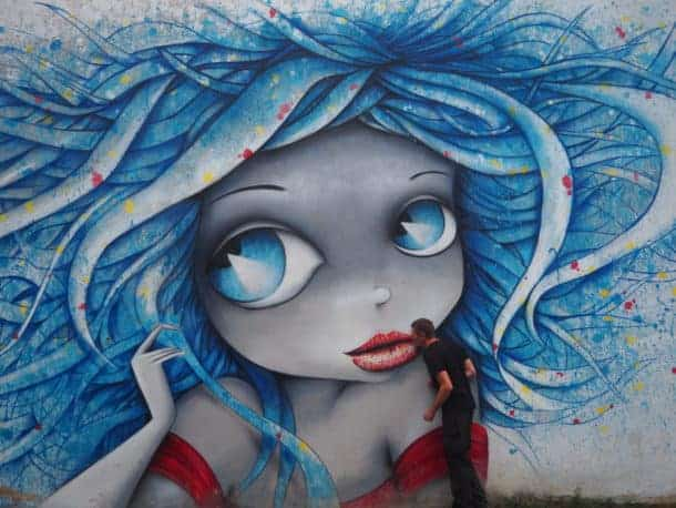 Street art Géorgie
