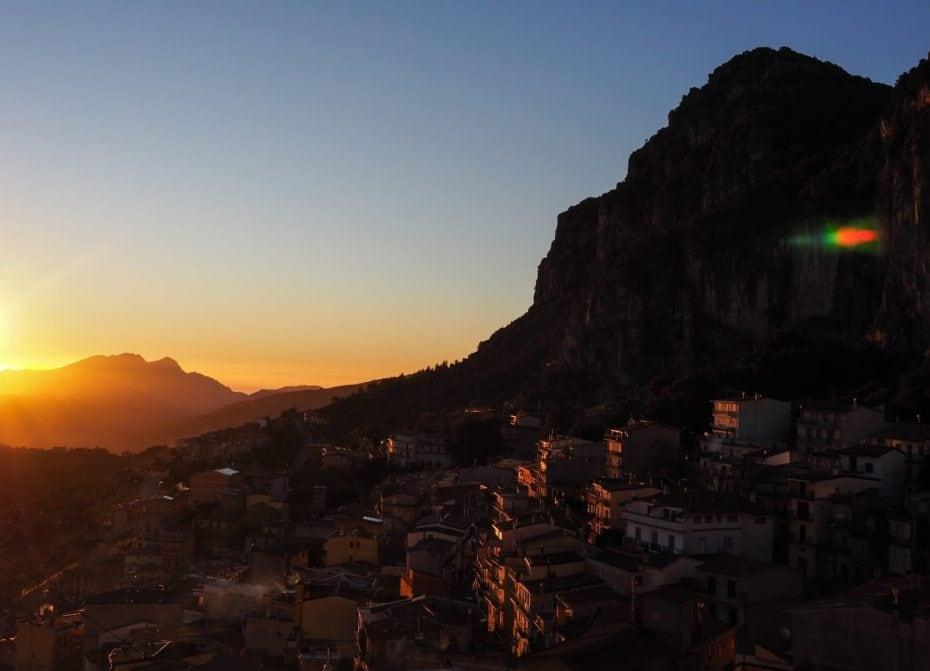 Ulassai village Sardaigne