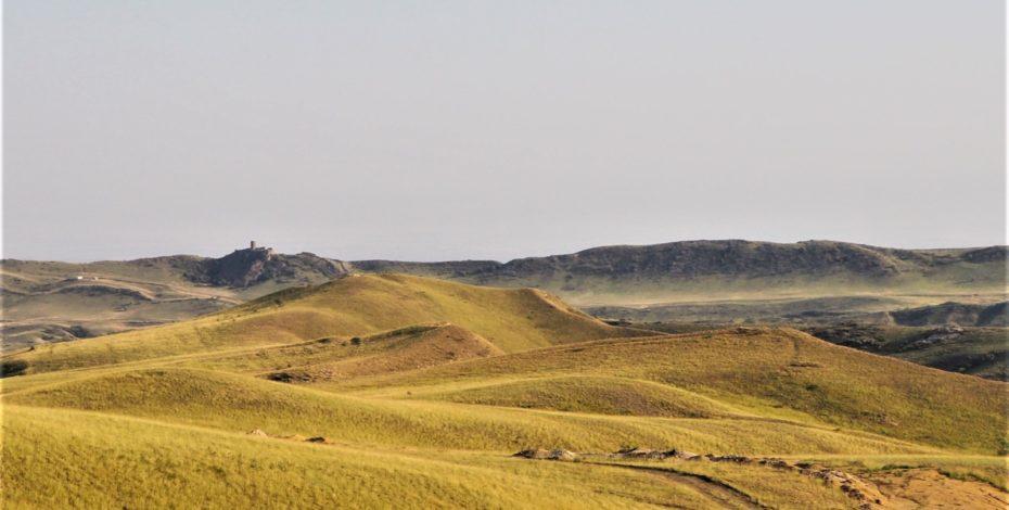 Monastère david garedja paysage