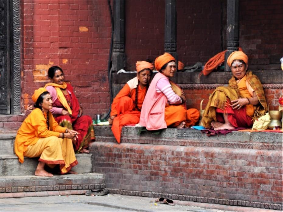 femmes sadhu