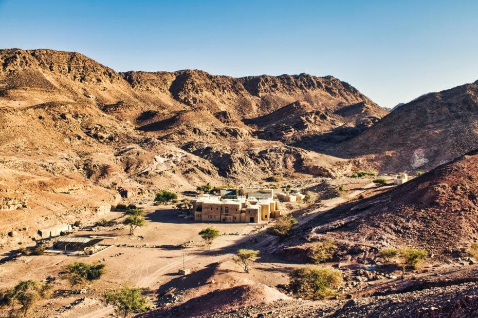 Hébergement écologique vallée de Dana