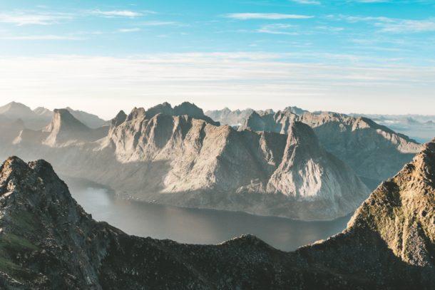 Une vue imprenable sur les beautés des Lofoten