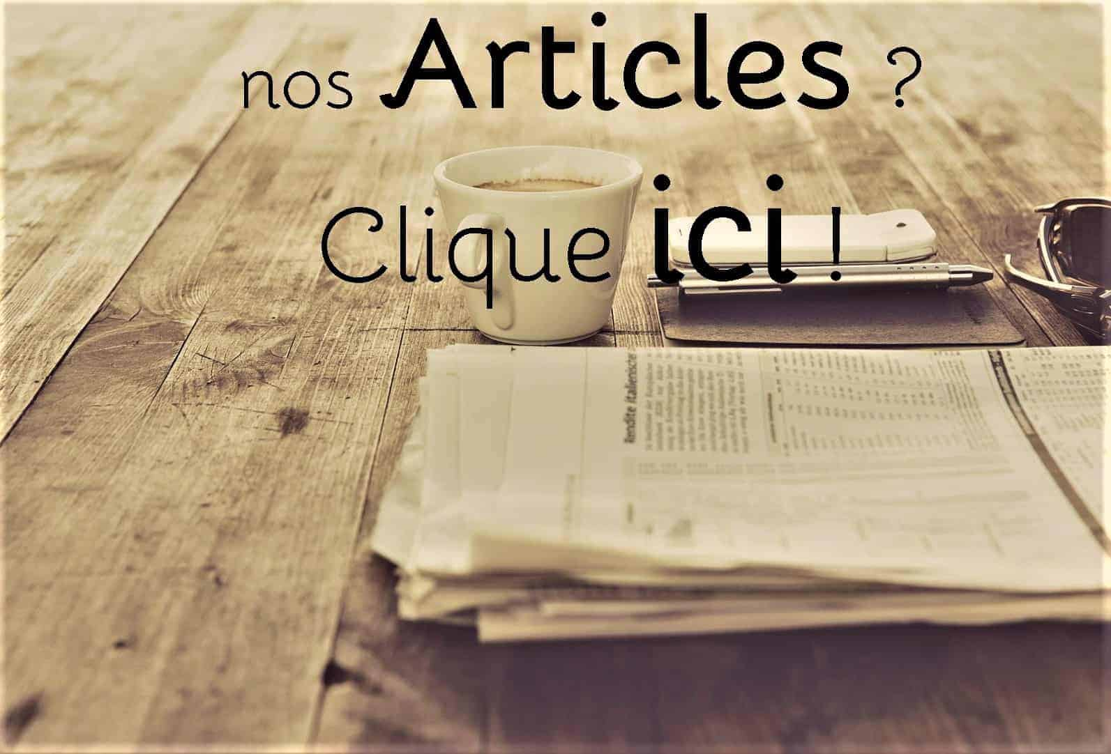 Articles Blog