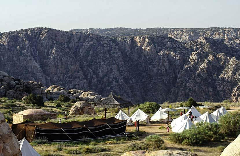 camping vallée de Dana