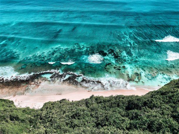Bali eau turquoise