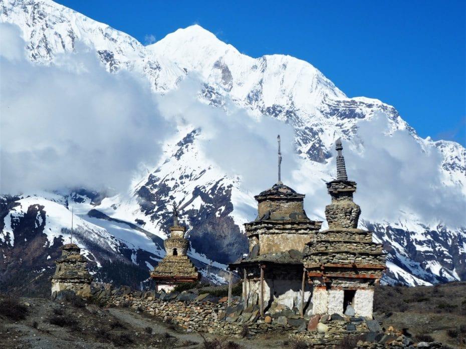 temple chemine Annapurna