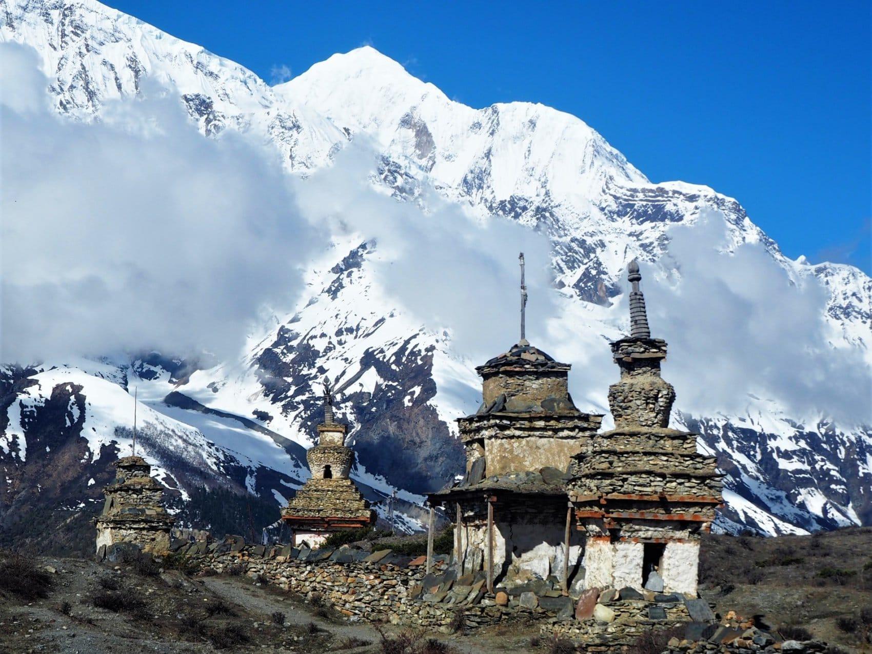Temple chemin Annapurna