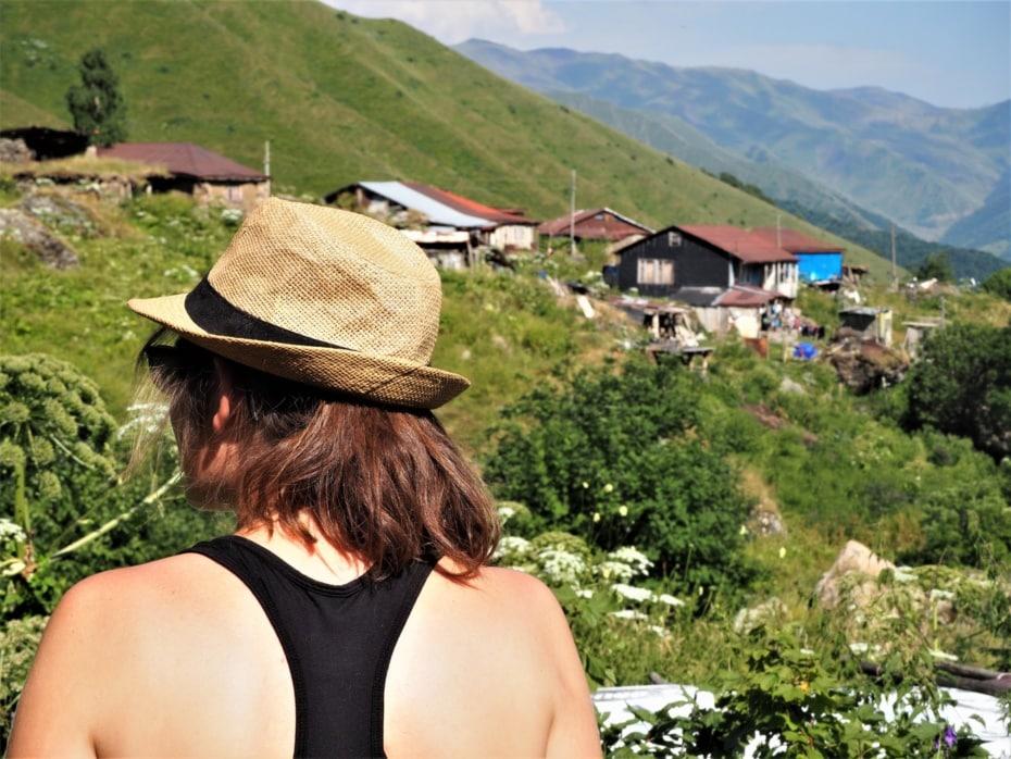 Roshka village géorgie Abudelauri